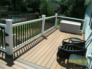 Synthetic Deck and Vinyl Railing
